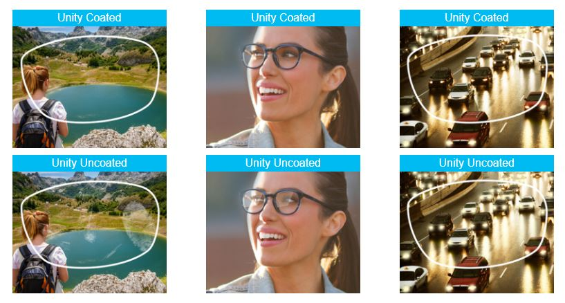Unity Lens Coating Eyecare Associates of Lee's Summit
