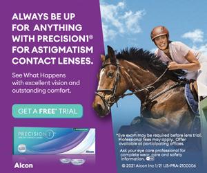 Precision 1 contact lenses at eyecare associates