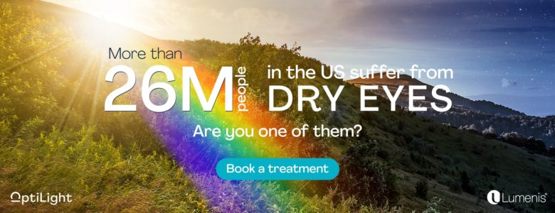 26 million dry eye sufferers in the US